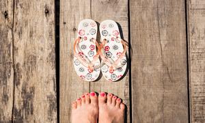 Жіноче пляжне взуття