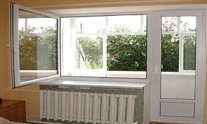 Двері балконні
