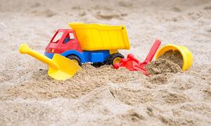 Іграшки для пісочниці та пляжу