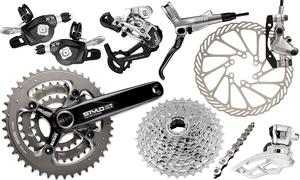 Велосипедні запчастини та інвентар